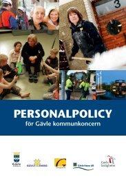 PERSONALPOLICY - Gävle kommun