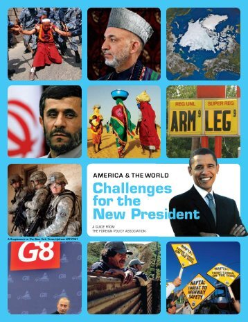 Challenges for the New President - Scholastic