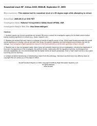 Nosewheel stuck 90°, Airbus A320, N536JB, September ... - Fss.aero