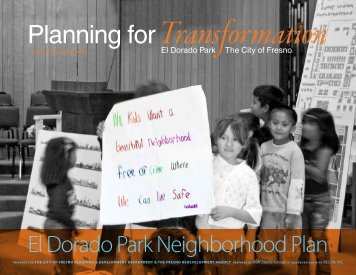 El Dorado Park Neighborhood Plan - City of Fresno