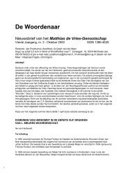 Klik hier om de Woordenaar van oktober 2000 te ... - Fryske Akademy