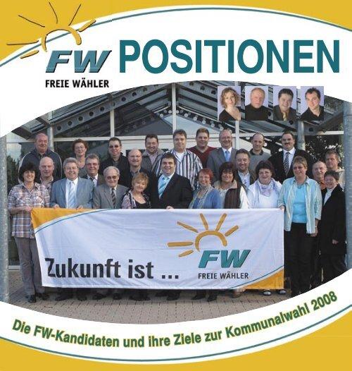 Die FW-K andidaten und ihre Ziele zu mmun ah 008 - Freie Wähler ...