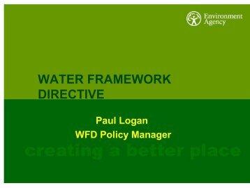 WATER FRAMEWORK DIRECTIVE - FreshwaterLife
