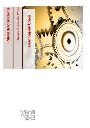 Lean Supply Chain_Confindustria Padova