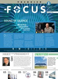 Print version - Technion Focus Magazine