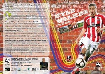 Kyle Walker - Football Unites - Racism Divides
