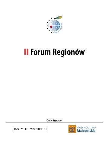 IIForum Regionów - Economic Forum