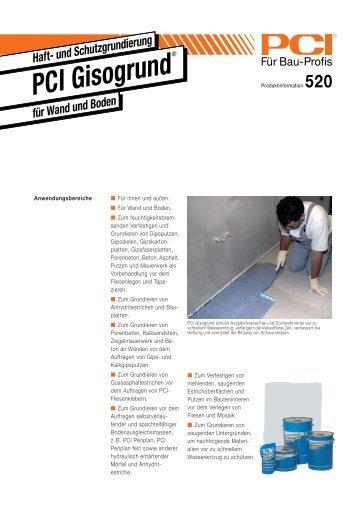 PCI Gisogrund - Fliesen Lerche