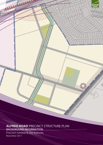 Alfred Road PSP background report - Growth Areas Authority