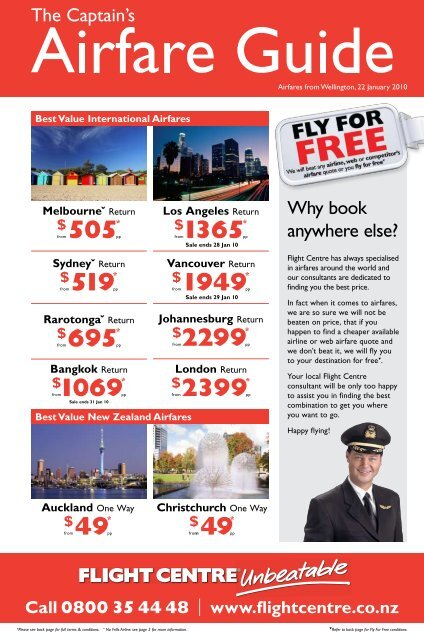 Why book anywhere else? - Flight Centre NZ