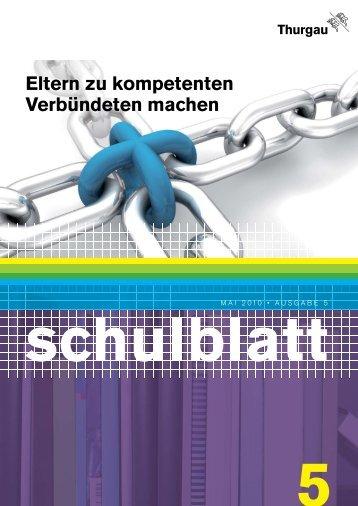 Schulblatt - Forum Bildung