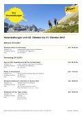 Veranstaltungen vom 02. Oktober bis 31. Oktober 2012 - Flims - Page 2