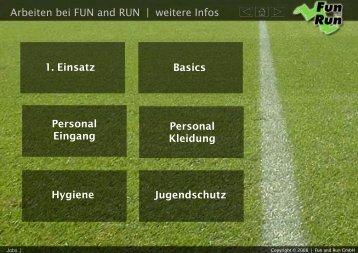 Folie 1 - FUN and RUN GmbH