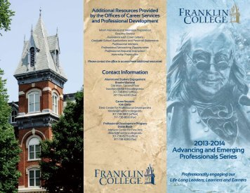 to view the .pdf - Franklin College