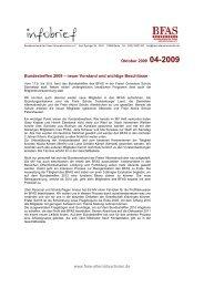 Infobrief 4-2009 - BFAS
