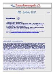 Infobrief 31-07ok - Forum-Bioenergetik eV