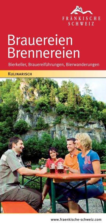 Brauereien Brennereien - Die Fränkische Schweiz