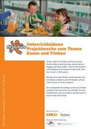 Unterrichtsideen Projektwoche zum Thema Essen und ... - Fit-4-Future