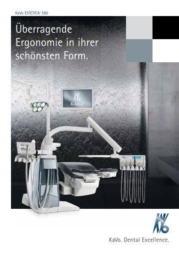 ESTETICA E80 Prospekt - Futura-Dent