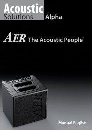 AER Alpha Manual - zzounds.com