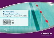 Easter Swimming Timetables (636 PDF) - Fusion Lifestyle