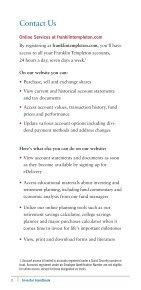 Investor Handbook - Franklin Templeton - Page 4