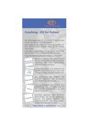 Coaching - Fit for Future - Das flexible Klassenzimmer