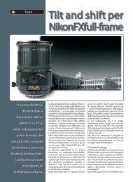 Tilt and shift per Nikon FX full-frame - Fotografia.it