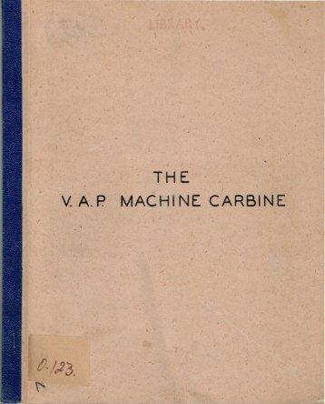 The VAP Machine Carbine.pdf - Forgotten Weapons