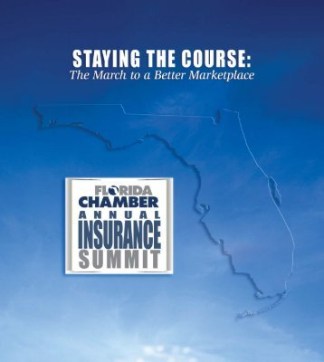 6th Annual Insurance Summit Program - Florida Chamber of ...