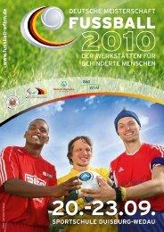 sportschule duisburg-wedau - Deutsche Fußball-Meisterschaft der ...