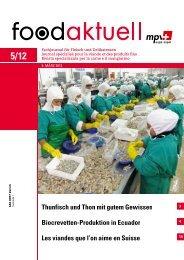 Biocrevetten-Produktion in Ecuador Les viandes ... - Foodaktuell.ch