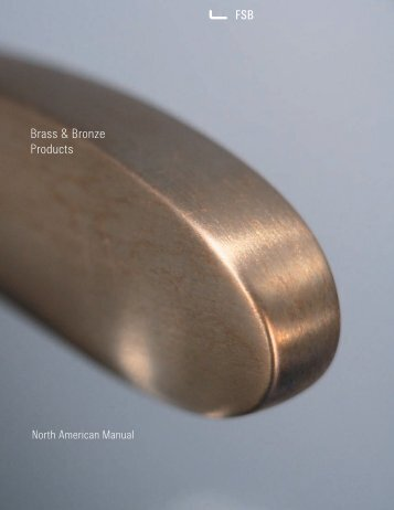 Brass & Bronze Products PDF, 1.0 mb - FSB
