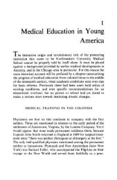 Medical Education in Young America - Galter Health Sciences ...