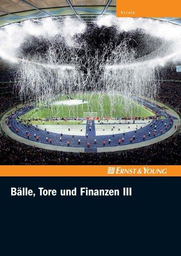 Bälle, Tore und Finanzen III - Sponsors.de
