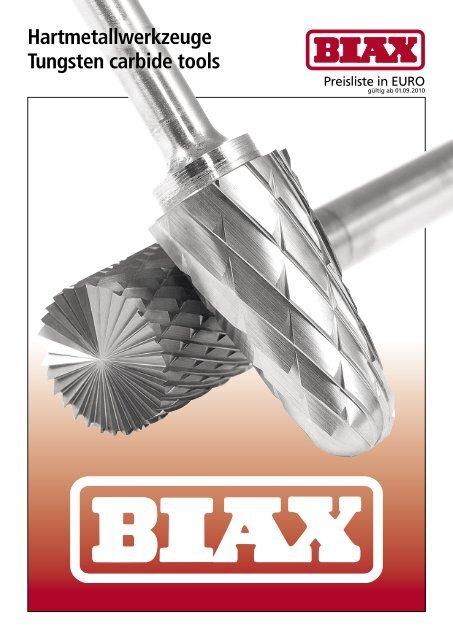 BIAX Hartmetall-Frässtift TCI 0313 Zahnung 5