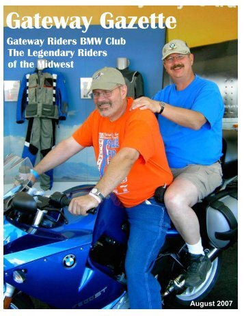 August - Gateway Riders Index