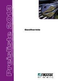 Preisliste Geothermie (PDF) - Frank GmbH
