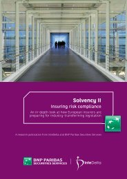 Solvency II - Financial Risk and Stability Network