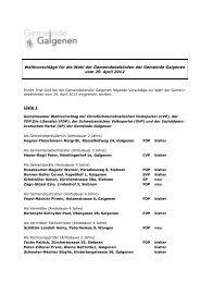 Wahlvorschläge 2012 [PDF, 119 KB] - Galgenen