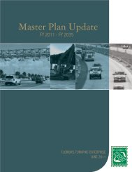 Master Plan Update - Florida's Turnpike