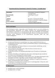 Functiebeschrijving Functiefamilie - Flanders Investment & Trade