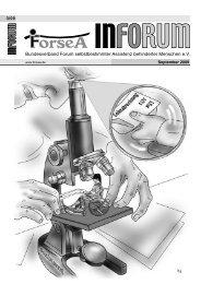 ++INFORUM Druck 3-09 - ForseA