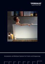 Acrylwannen und Whirlpool-Systeme für Frische und ... - Format