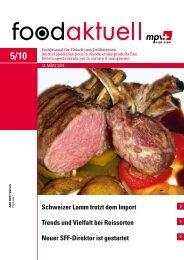 Schweizer Lamm trotzt dem Import Trends und ... - Foodaktuell.ch
