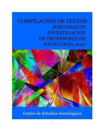 compilacion-jornadas profesores.pdf - Centro de Estudios ...