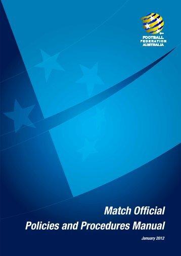participant manual football federation victoria rh yumpu com Participant Manual Template Participant Manual Template