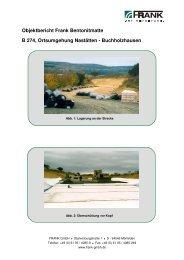 B 274, Ortsumgehung Nastätten-Buchholzhausen ... - Frank GmbH