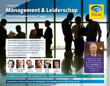 Management & Leiderschap - Focus Conferences