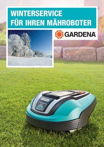 Winterservice-Formular 2013/2014 herunterladen - GARDENA